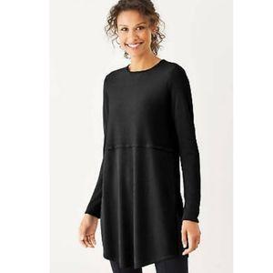 J.Jill Grace sweater/tunic in black